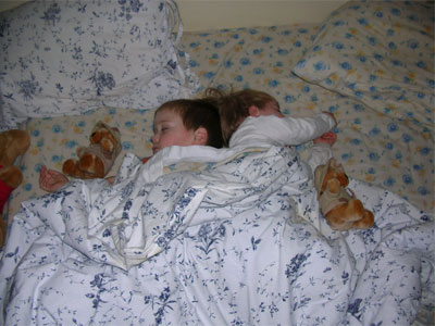 children-sleeping