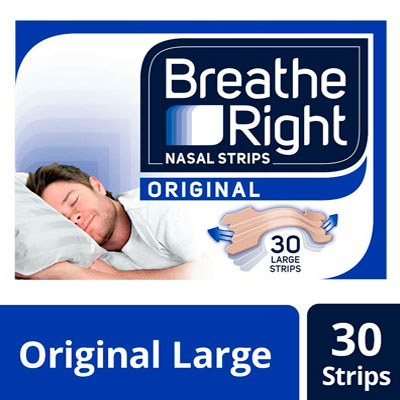 Breathe Right nasal snoring strips