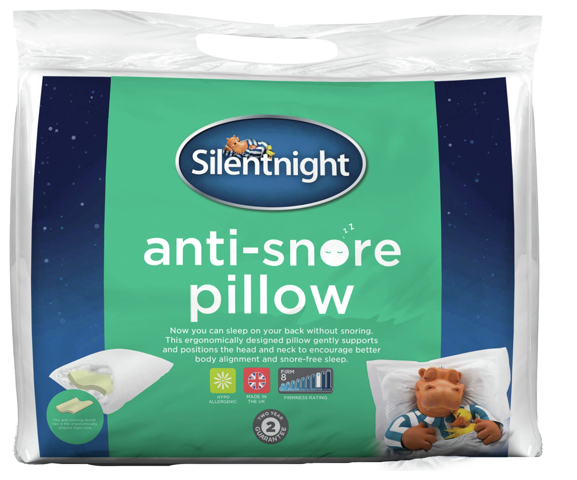 Silentnight Anti snore pillow