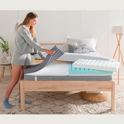 Nrem Tweak Slumber customisable mattress